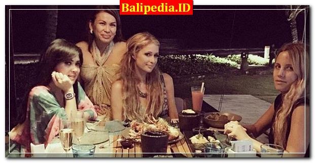 Syahrini Paris Hilton Bali