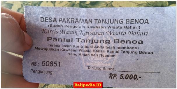 Harga Tiket Masuk Tanjung Benoa Bali