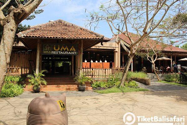 Uma Restaurant Bali Safari