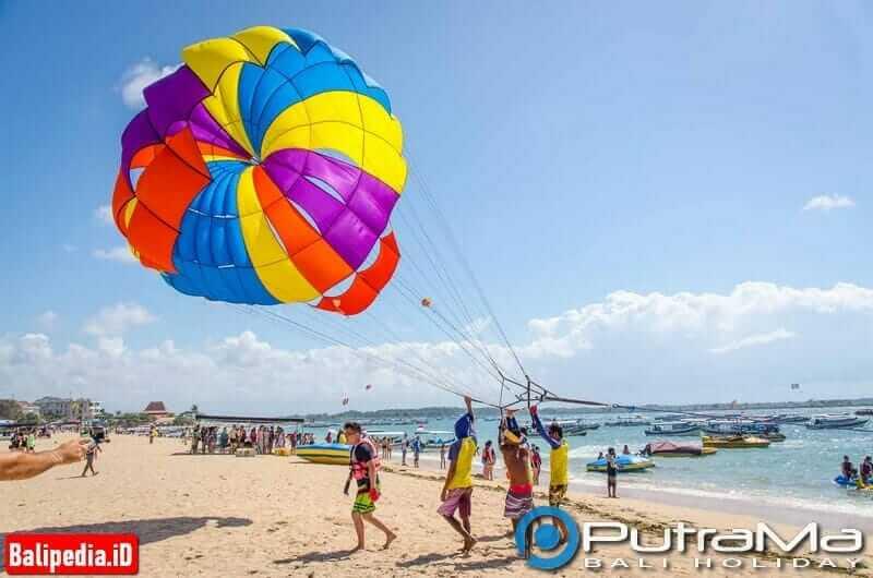 Single Parasailing Bali