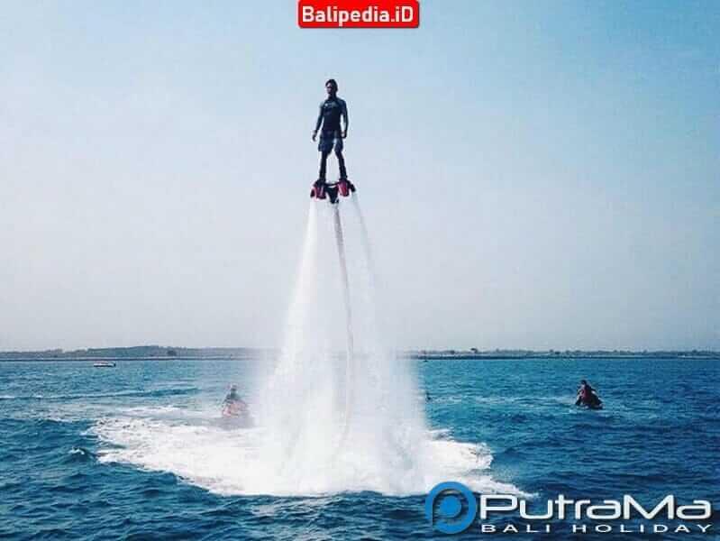 Flyboard di Tanjung Benoa Bali