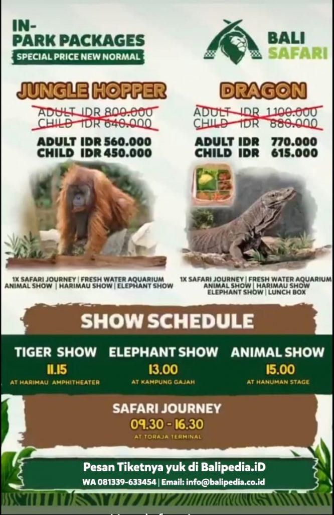 Spesial Price Bali Safari Asing