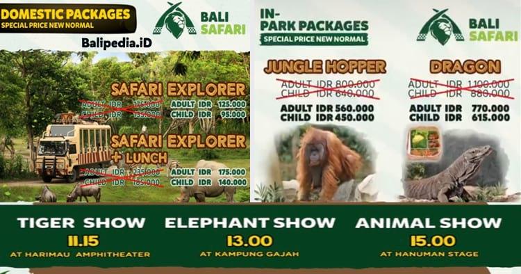 Promo Bali Safari