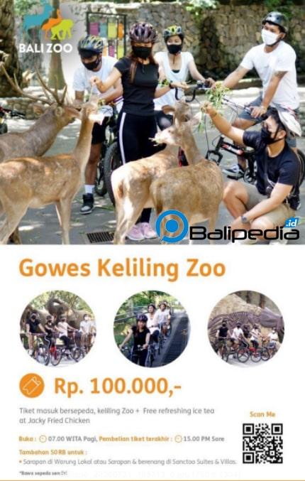 Gowes di Bali Zoo